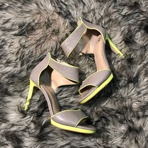 Gianni Bini Neon Heels